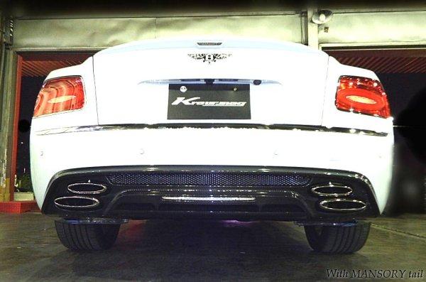画像2: [Bentley ベントレー フライングスパーW12 マフラー]  F1サウンド バルブトロニック エキゾーストシステム
