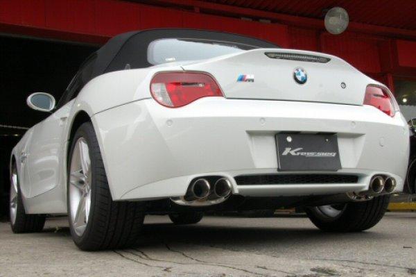画像1: [BMW E85/E86 Z4M マフラー]  ファースト キャタバック F1サウンド バルブトロニック エキゾーストシステム [ステンレス テール]