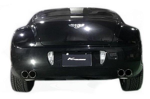 画像1: [Bentley ベントレー コンチネンタルGT マフラー]  ファーストキャタバック F1サウンド バルブトロニック エキゾーストシステム