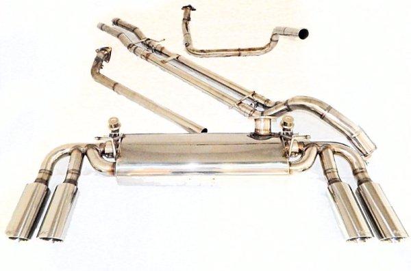 画像2: [H2ハマー 6.0 マフラー]  ファーストキャタバック F1サウンド バルブトロニック エキゾーストシステム