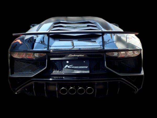 画像1: [Lamborghini ランボルギーニ  アヴェンタドール LP750-4SV マフラー]  F1サウンド バルブトロニック エキゾーストシステム スーパーハウリングVer. フルキット