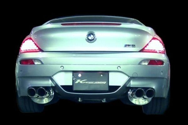 画像1: [BMW E63 / E64 M6 マフラー]  ファースト キャタバック F1サウンド バルブトロニック エキゾーストシステム