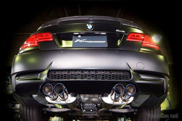 画像1: [BMW E92 M3 マフラー]  キャタバック F1サウンド バルブトロニック エキゾーストシステム