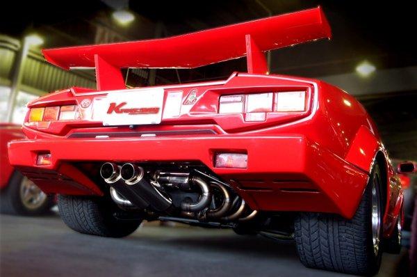 画像1: [Lamborghini ランボルギーニ カウンタック マフラー]  F1サウンド バルブトロニック エキゾーストシステム
