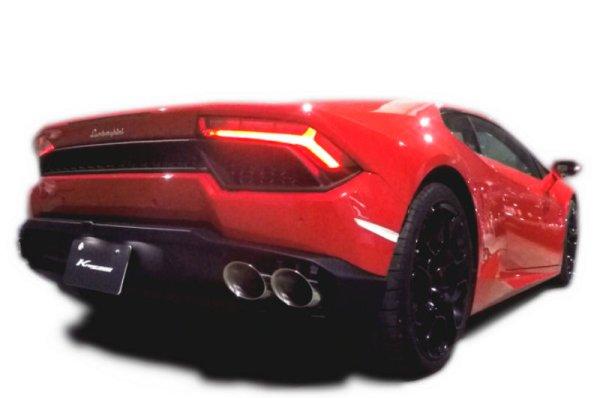画像1: [Lamborghini ランボルギーニ  ウラカン マフラー]  キャタバック F1サウンド バルブトロニック エキゾーストシステム