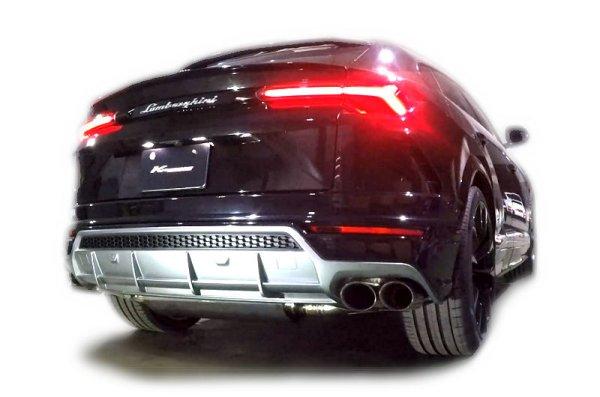 画像1: [Lamborghini ランボルギーニ  ウルス マフラー]  F1サウンド バルブトロニック エキゾーストシステム フルKIT