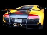 [Lamborghini ランボルギーニ  LP670 ムルシェラゴ マフラー]  F1サウンド バルブトロニック エキゾーストシステム [ステンレス テール]