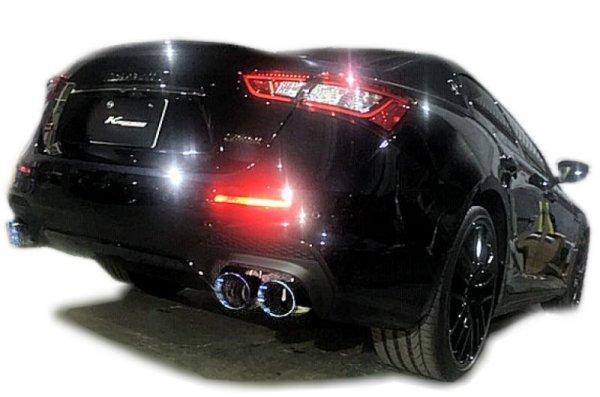 画像1: [Maserati マセラティ ギブリ マフラー]  F1サウンド バルブトロニック エキゾーストシステム