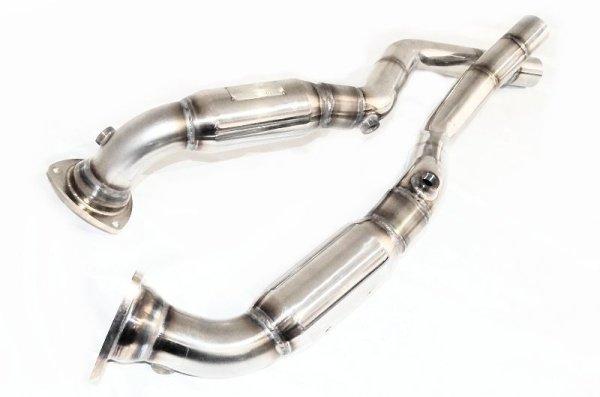 画像1: [Maserati マセラティ クアトロポルテ マフラー]  O2キャンセラーパイプ (セミAT用)