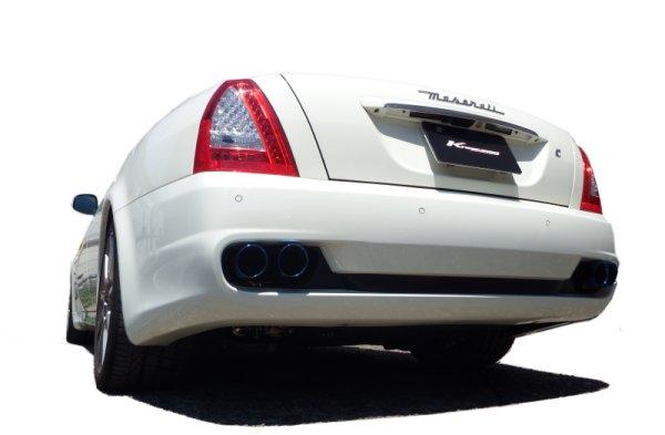 画像1: [Maserati マセラティ クアトロポルテ マフラー]  キャタバック F1サウンド バルブトロニック エキゾーストシステム