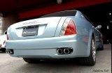 [Maserati マセラティ クアトロポルテ マフラー]  キャタバック F1サウンド バルブトロニック エキゾーストシステム