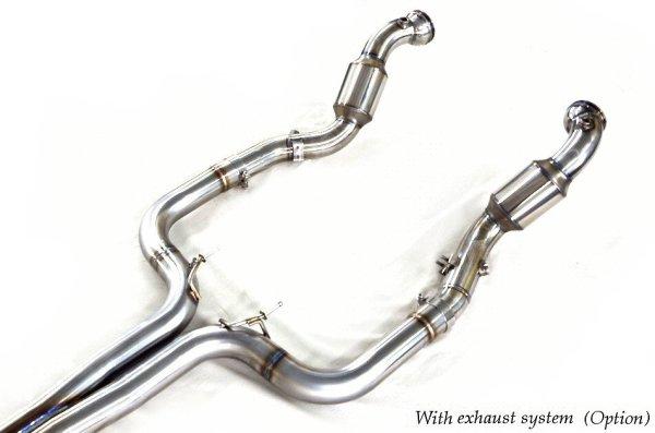 画像2: [Maserati マセラティ ギブリ マフラー] レーシング キャタライザー