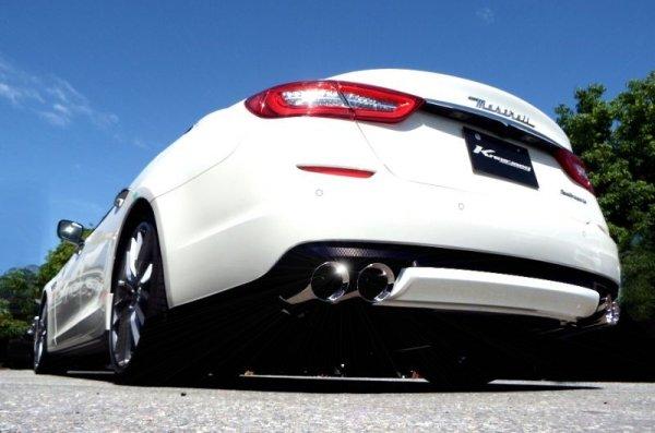 画像1: [Maserati マセラティ クアトロポルテ マフラー]  F1サウンド バルブトロニック エキゾーストシステム