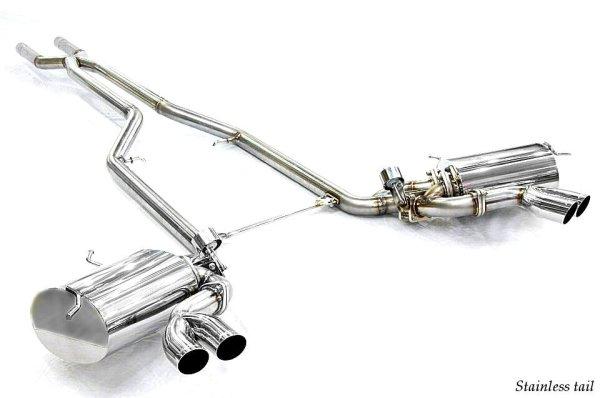 画像2: [Maserati マセラティ グランスポーツ マフラー]  キャタバック F1サウンド バルブトロニック エキゾーストシステム