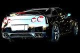 [日産 GT-R マフラー]  キャタバック F1サウンド バルブトロニック エキゾーストシステム