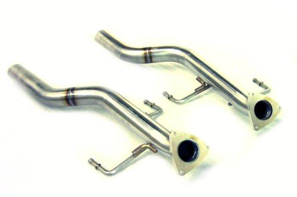 画像1: [Porsche ポルシェ 957カイエン マフラー]  ステンレス キャタパイプ