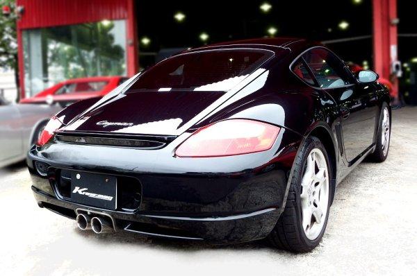画像1: [Porsche ポルシェ 987ケイマン マフラー]  ファースト キャタバック F1サウンド バルブトロニック エキゾーストシステム