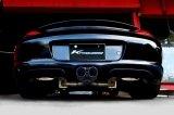 [Porsche ポルシェ 987ケイマン マフラー]  ファースト キャタバック F1サウンド バルブトロニック エキゾーストシステム